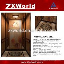 ZXC01-1361 Elegant Design Elevador de passageiros Elevador