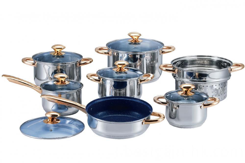 7 Layer Capsulated Bottom Cookware Set