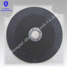 Tipo europeo óxido de alúmina corte plano rueda tamaño 125 mm