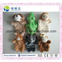 Heiße verkaufende interaktive Kind-Spielzeug-Plüsch-Tierhandmarionette