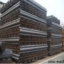 1 1/2 '' schwarzer Carbon geschweißter Stahlrohr