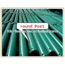 Poteau de clôture résistant en acier (enduit de poudre, galvanisé ou Dacromet)
