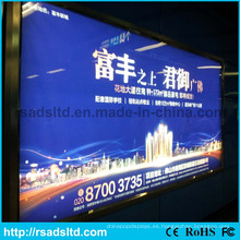 Caja de luz de alta calidad de la tela de China LED
