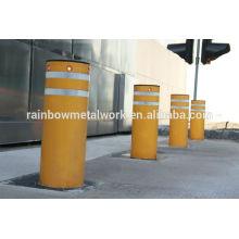 Traffic steel bollards