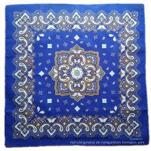 OEM produzieren kundengebundenen Entwurf gedruckten fördernden Baumwollbandana Kopf-Verpackung