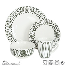 High Luxury Restaurant 16PCS Dinnerware Set