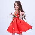Filles fille porter robe occidentale bébé fille robe de soirée enfants robes conçoit une pièce robes de filles de partie