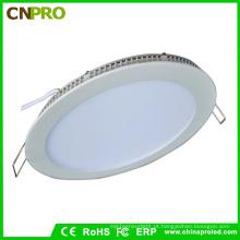 Lâmpada de painel redonda do diodo emissor de luz de Cnpro 15W com aprovaçã0 de Rohs / Ce