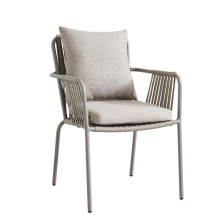 Wholesale Aluminium frame with powder coating outdoor garden rope chair