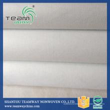 Prix d'usine coton polyester non tissé