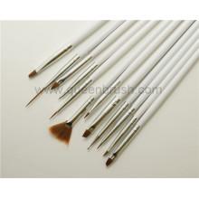 Инструменты для ногтей высокого качества 12PCS деревянные для искусства ногтя