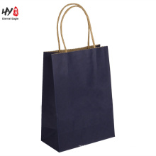 Fully printed kraft paper shopping tote kitchen bag