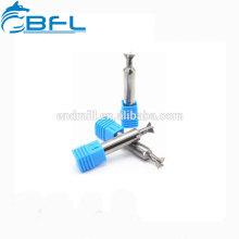Fabrication d'outils de coupe de chanfrein arrière en carbure de tungstène BFL