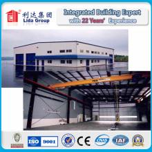 Diseño de construcción de bajo costo Diseño de estructura de metal de acero Planos de construcción Precio Almacén prefabricado