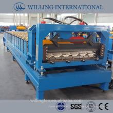 Neue Maschine automatische Stahl Fliesen Rollenformmaschine für Dach