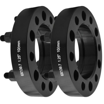 black anodized wheel adapter