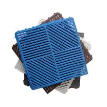 Customized 100% PVC Drainage Non Slip Indoor Mats Vinyl Grid Shower Bath Tub Floor Outdoor Mat