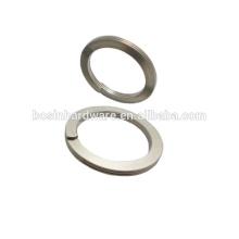Moda de alta qualidade de metal 32 milímetros de diâmetro anel partido