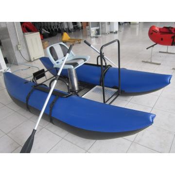 Professionelles Fliegenfischen Beiboot Pantoon Boot
