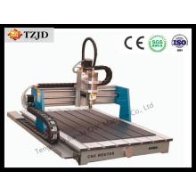 Vente chaude en bois de commande numérique par ordinateur de la publicité 6090 de vente avec l'approbation de la CE