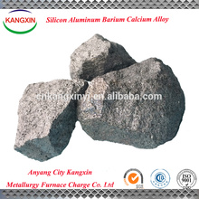 exportar ferro SiAlBaCa aleación de calcio silicio bario aluminio / ca si ba al aleación para la fabricación de acero