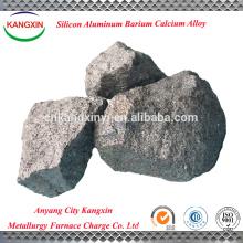 liga de alumínio do bário do silicone do cálcio da liga de SiAlBaCa da exportação / liga do si do ba de ca do si para a fabricação de aço