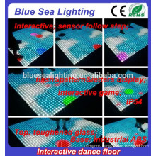 Disco night club rental interactive led dance floor light