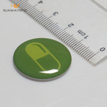 Etiqueta epoxy do rfid do nfc de 25mm 13.56mhz / 125khz