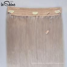 La alta costura de encargo de la trama del cordón de la alta costura cose la tapa al por mayor en la extensión del pelo La cutícula de Halo alineó superior