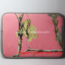 Pink Reusable Waterproof Custom Neoprene Laptop Bags