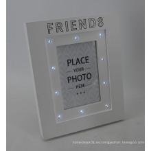 Marco de la foto del LED con el cuadro caliente caliente abierto del sexo de la muchacha