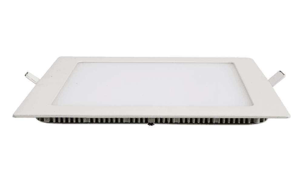 slim square led panel light
