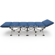 Realsports Folding Beach Wholesale Bed With Blue Mattress Folding Garden Bed