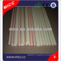MICC 90 95 99 99.7% 99.8% al2o3 porous alumina ceramic tube with factory price