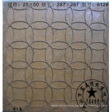 construcción de materia prima de moldeo de azulejos de mosaico