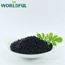 improve soil fertility organic acid humic + amino acid granular fertilizer with NPK 12-3-3