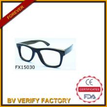 2015 à la main Simple en bois lunettes de soleil (FX15030)