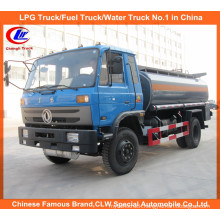 Heavy Dongfeng 6 Wheels 8000L Oil Transport Truck 10000L Fuel Tanker Truck