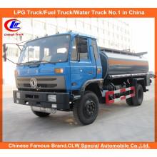 Heavy Dongfeng 6 Rodas 8000L Caminhão de transporte de óleo 10000L Caminhão de tanque de combustível