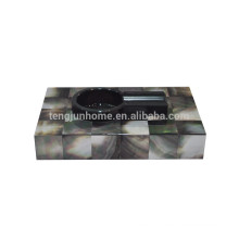 China wholesale black mother of pearl cohiba cigar ashtray