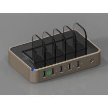 Carregador público de USB do porto da estação de carregamento 5 do telefone móvel do fornecedor de China