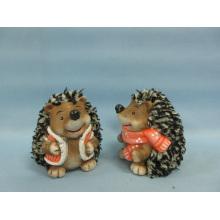 Hedgehog forma de artesanía de cerámica (LOE2531-C9)