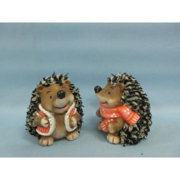 Hedgehog Shape Ceramic Crafts (LOE2531-C9)