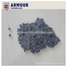 plaque de protection en céramique en carbure de silicium