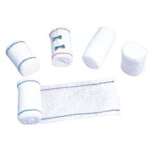 Venda elástica de algodón desechables médicos