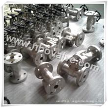 Reduzir a válvula de porta forjada do aço forjada (Z40H)