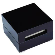 Caixa de relógio simples de couro pu
