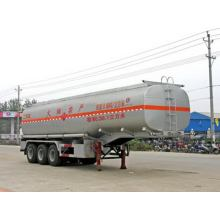 Tri-axle 32T Chemical Liquid Transportation Semi-trailer