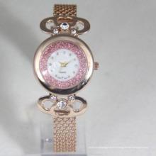Роскошные мода кварцевые наручные водонепроницаемые спортивные часы для женщины