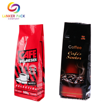 BRC High Barrier Zip Lock Coffee Plastic Bag